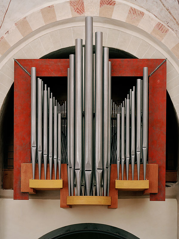 prospektgestaltung der orgel in bochum stiepel michael stratmann. Black Bedroom Furniture Sets. Home Design Ideas