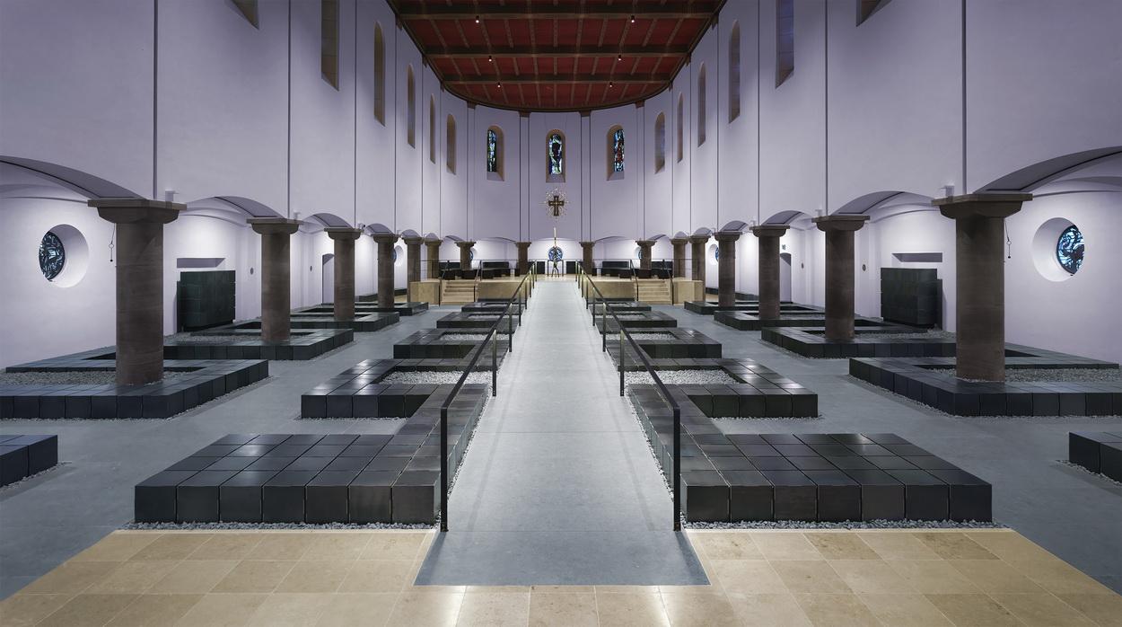 Pius kolumbarium michael stratmann - Architekturburo bochum ...