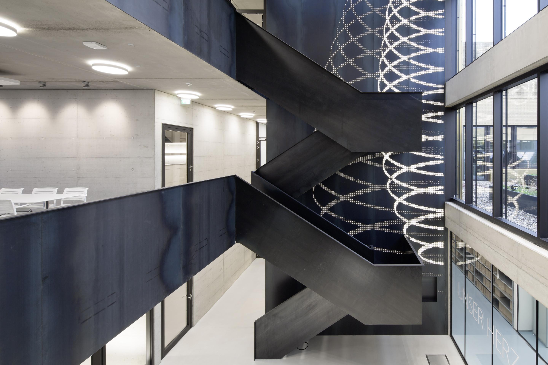 Treppen Dortmund microsonic treppe und fassade michael stratmann